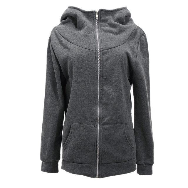 711069034 ZANZEA Hoodies Sweatshirts New Autumn Winter Women Zipper Design ...