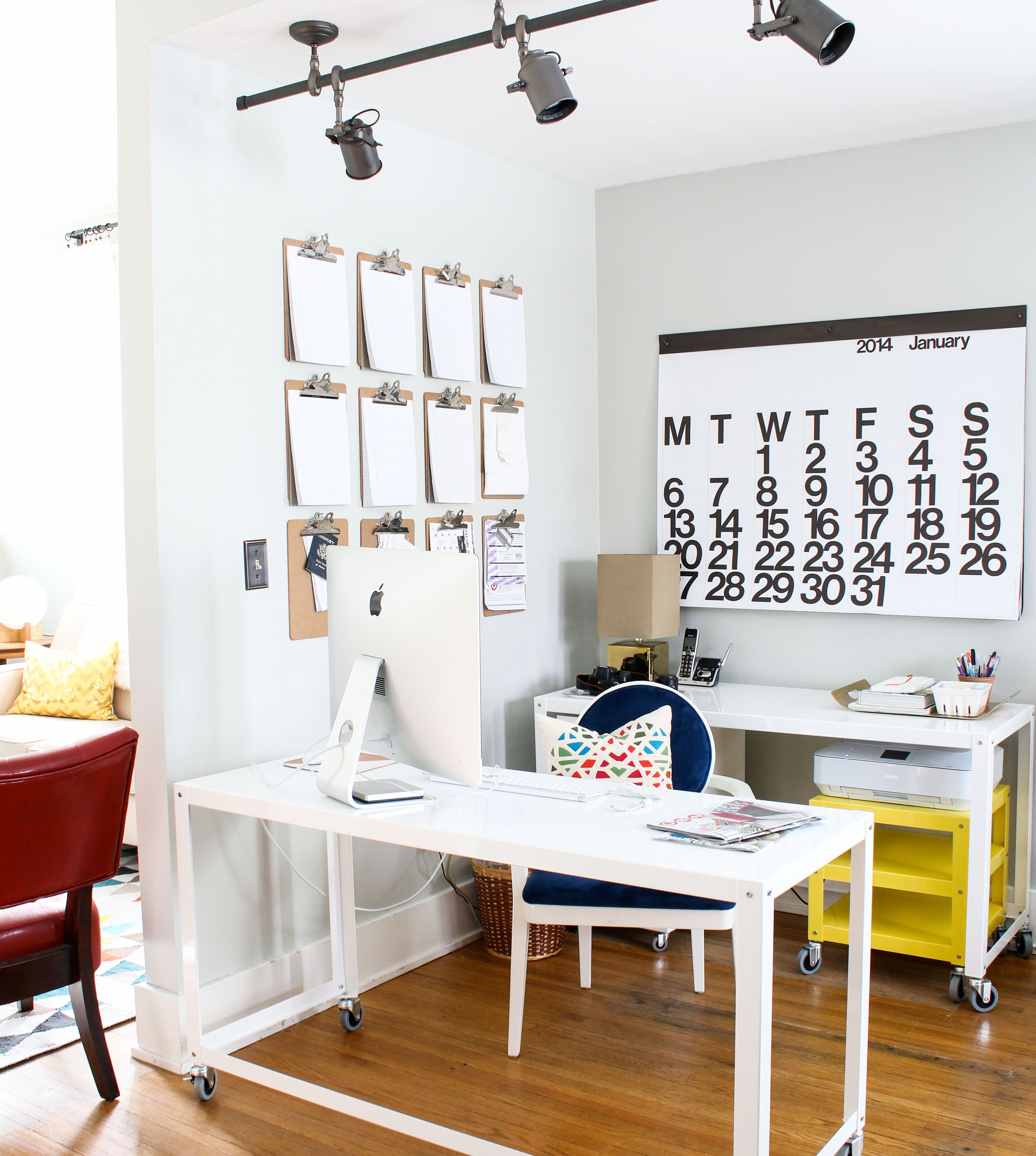 Create A Home Office That Inspires Creativity By Pairing