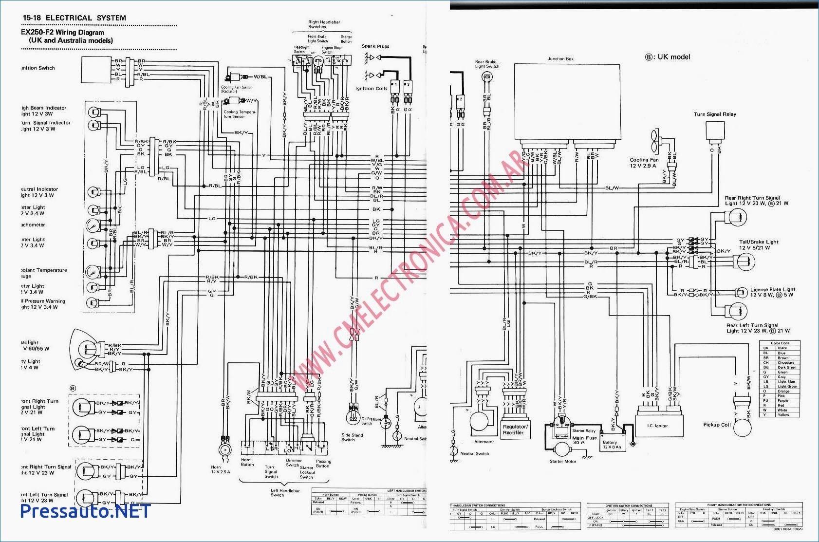 Kawasaki Bayou 300 Wiring Diagram New In