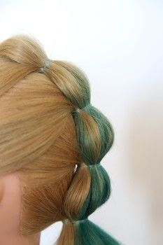 How To Do A Bubble Mohawk