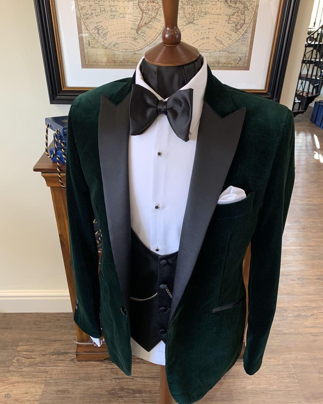 Ties R Us Plain Bottle Green Satin Skinny Men S Tie And Pocket Square Set Green Satin Tie Pocket Square Skinny Ties