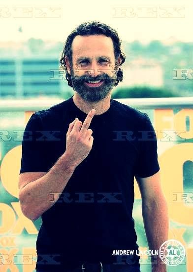 English Actor, Andrew Lincoln. Famed for his role of Rick Grimes in TLC's The Walking Dead.
