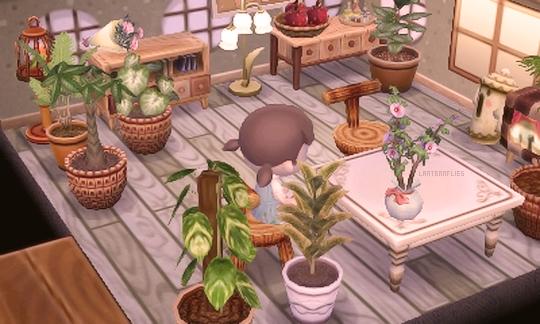 """Lanternflies: """"in-progress Dining Room """""""