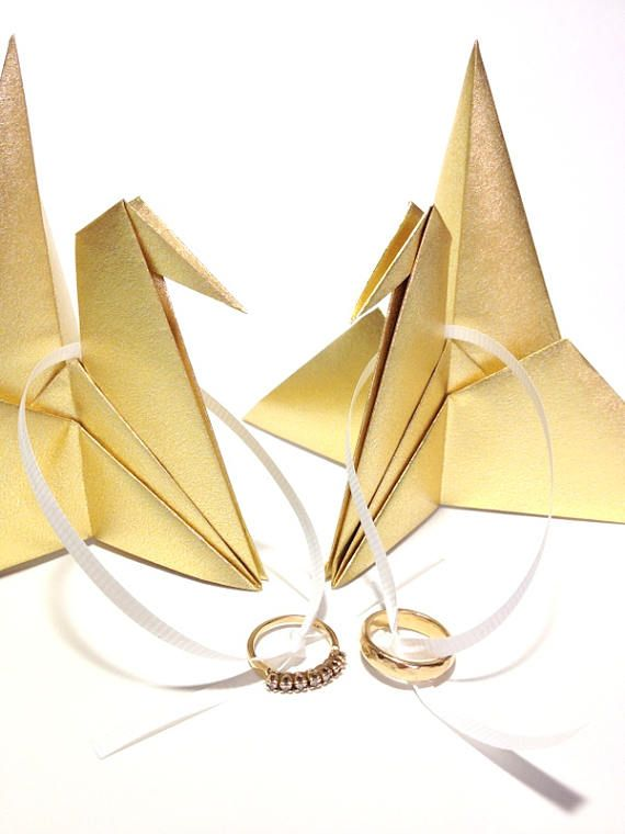 Origami Crane Wreath Tutorial - YouTube | 760x570