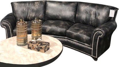 Kaymus Conversation Sofa is all about the comfort! Shown in Legends ...