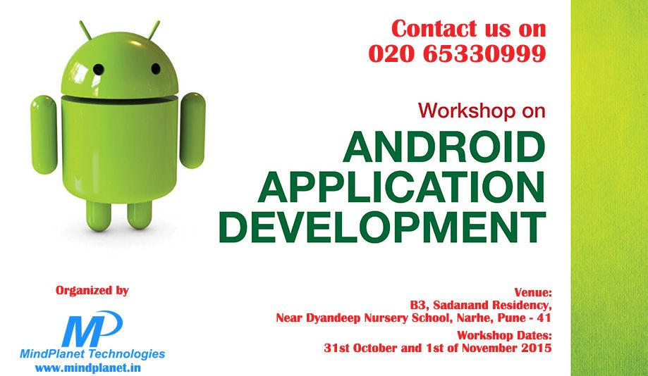 Golden Opportunity to increase knowledge about #Android_Application_Developement
