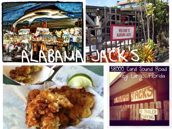 For your third day in South Florida, head even further south to the Florida Keys!  Forget traveling down US 1 like the typical tourist and head down Card Sound Road to the most local of local bars/restaurants: Alabama Jack's. Be sure to order the conch fritters along with your brew!  Situated right along the mangroves of the Upper keys bay, patrons can come by car, motorcycle or boat!