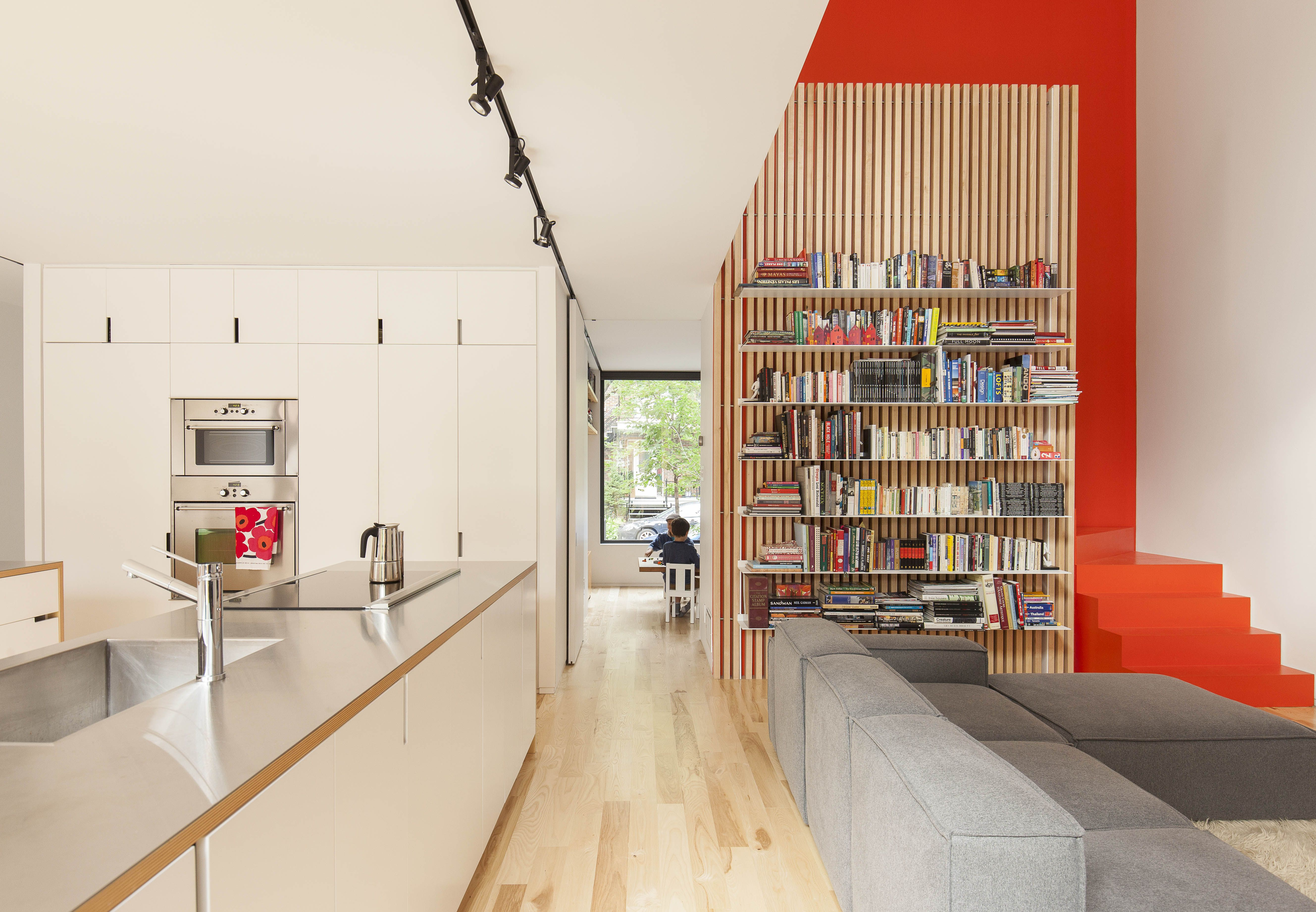 A Transformative Duplex Renovation in Montreal Modern kitchens