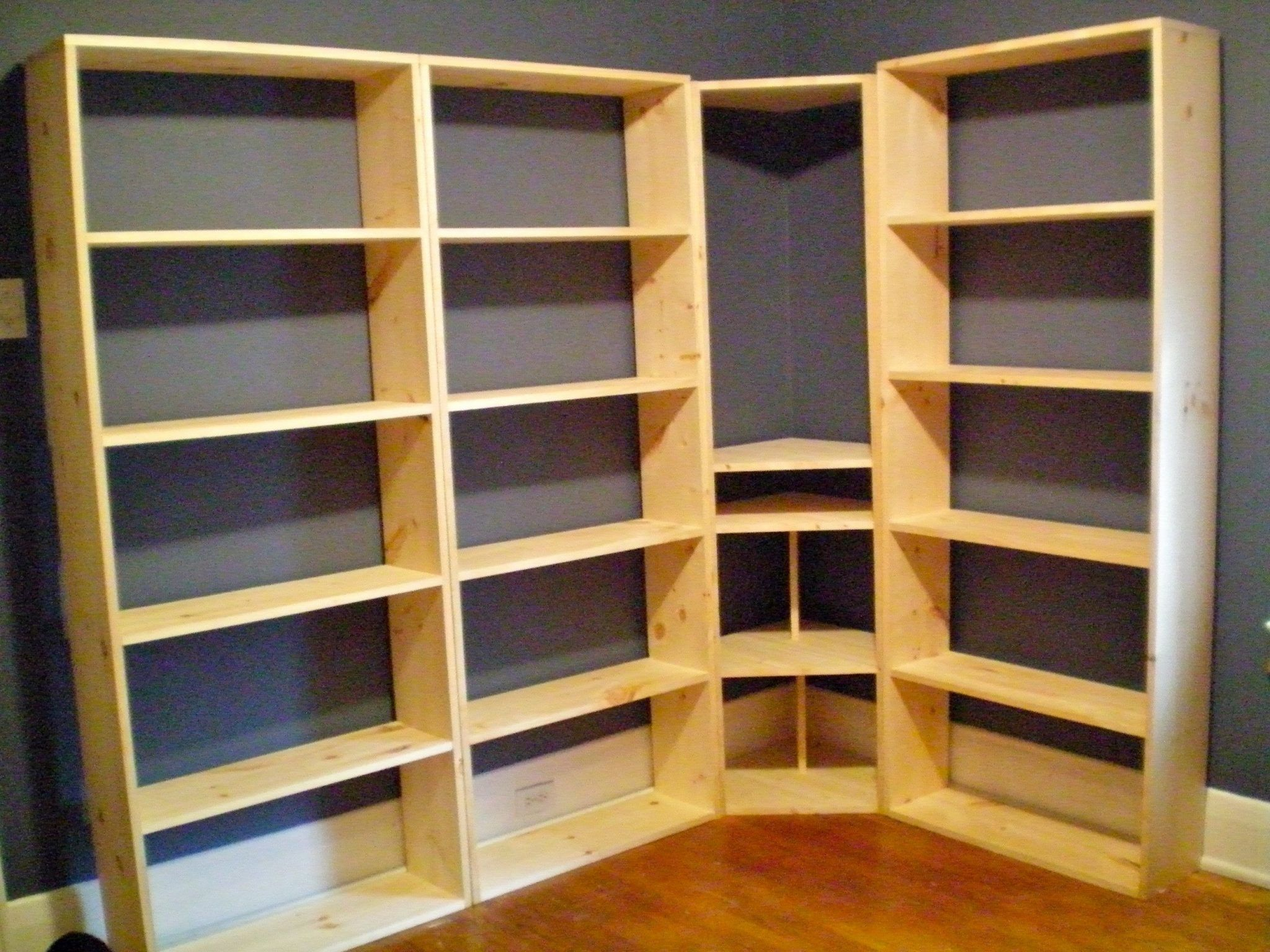 How To Build A Bookcase Wall Unit Bookcase Wall Unit Built In