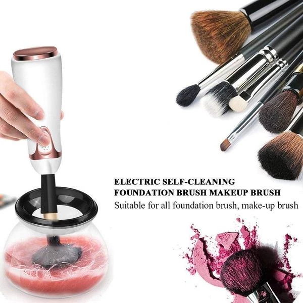 Photo of Electric Makeup Brush Cleaner Convenient Silicone Make up Brushes Wash – Miss.Be
