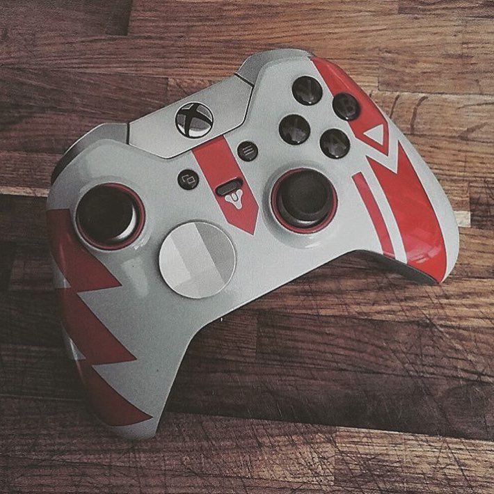 Super cool cayde-6, Destiny themed custom Xbox one