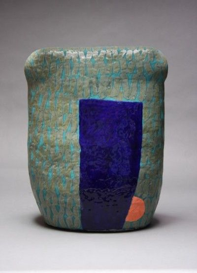 Nina Else    #4 Deep End  Ceramic outdoor sculpture