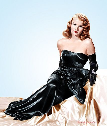 °gilda° Rita Hayworth in a publicity photo for Gilda.