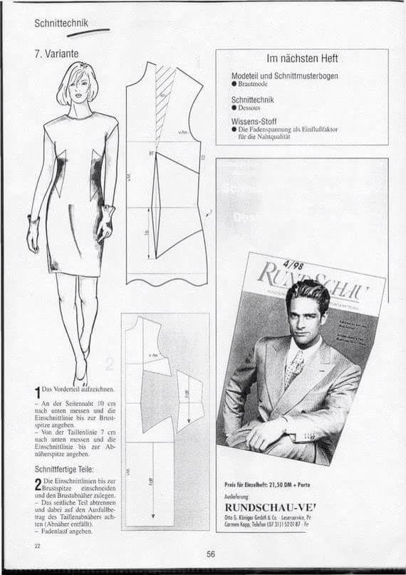 Patrones | vestidos costuras | Pinterest | Patrones, Costura y ...