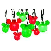 Christmas Blinking Lights Mickey Ears