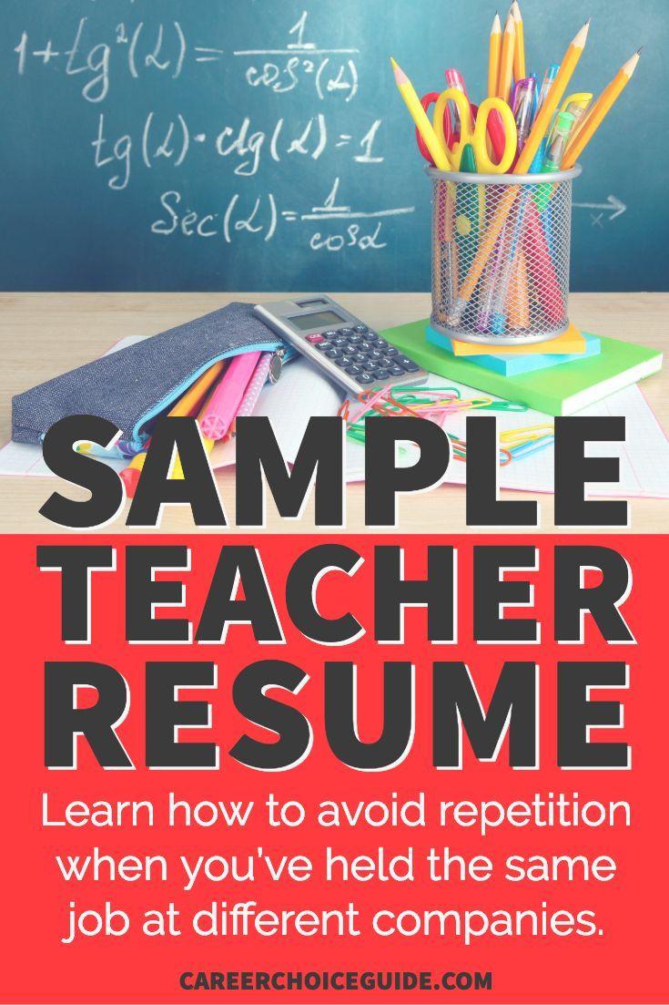 Music teacher sample resume resume tips resume resume