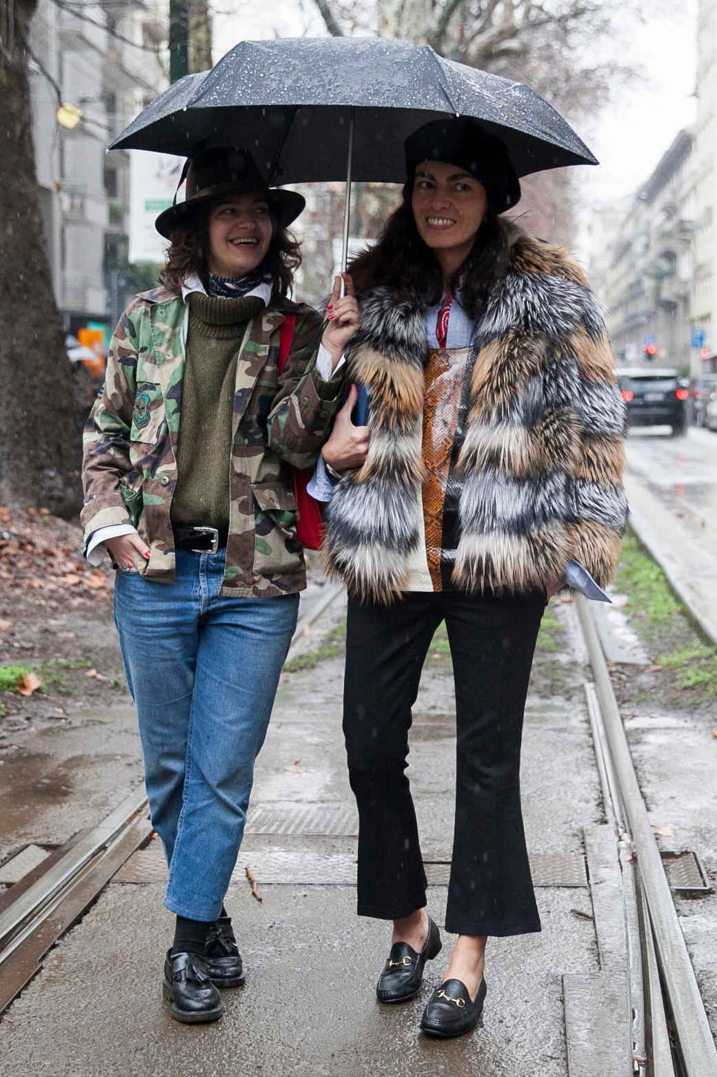 Our favorite street style images from the past four days of Milan Fashion Week.
