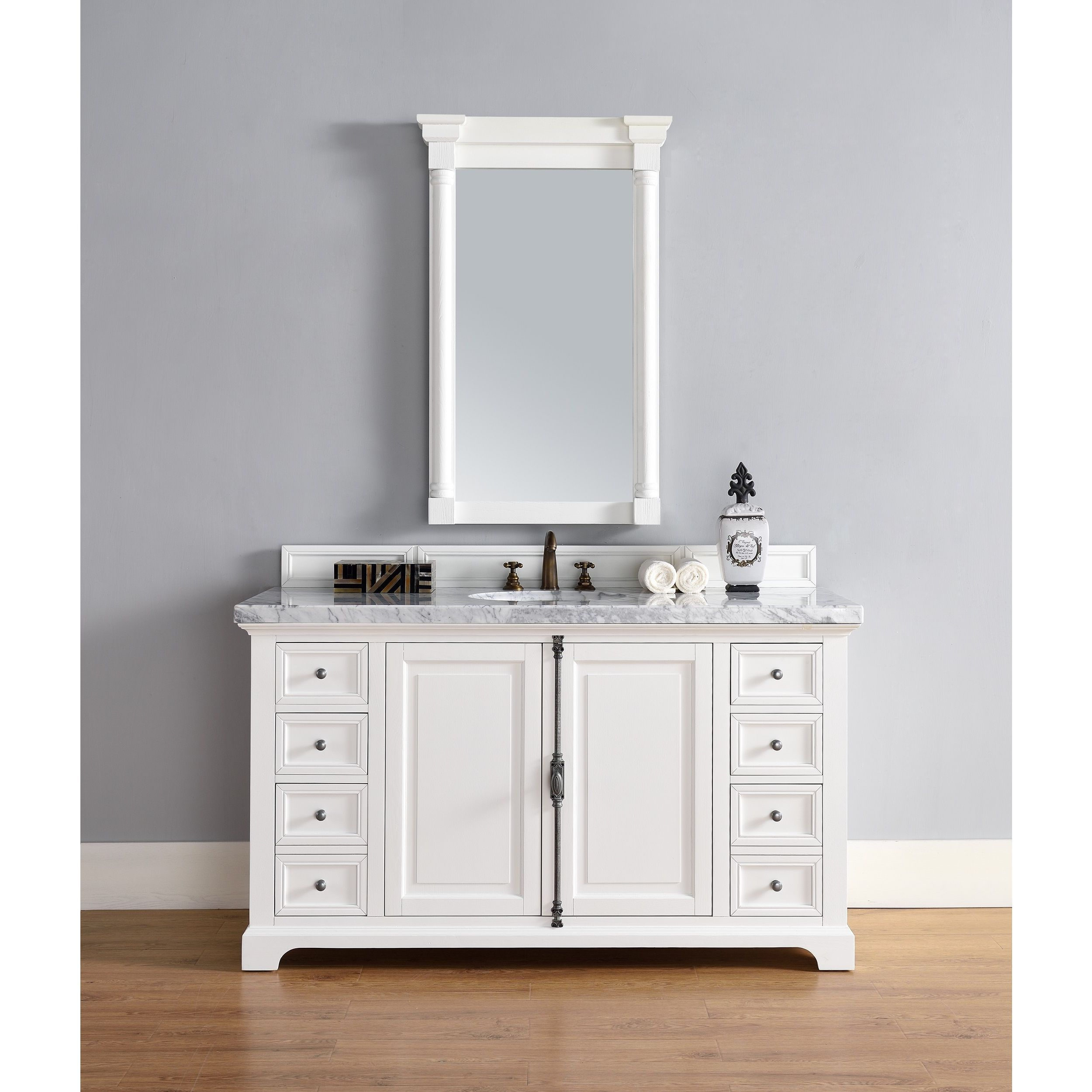 mirrors collection lighting and vanity bathroom shaker with mountlake drawers pin matching our from