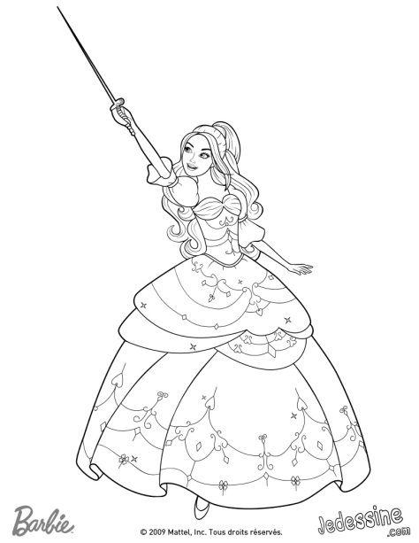 Barbie Merliah Coloring Pages | coloring 3 | Pinterest