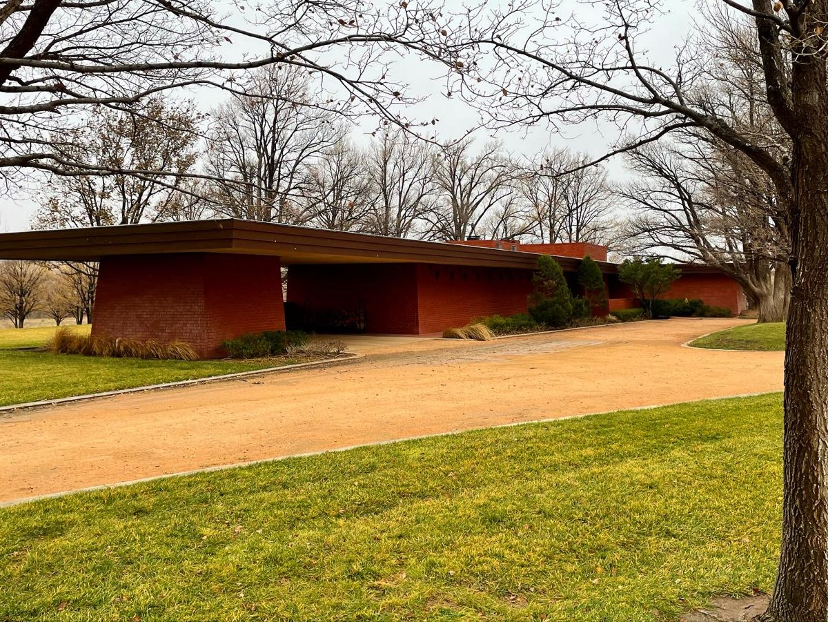 Sterling Kinney House 1957 Amarillo Tx Usonian Frank Lloyd Wright Usonian Clerestory Windows Radiant Floor Heating