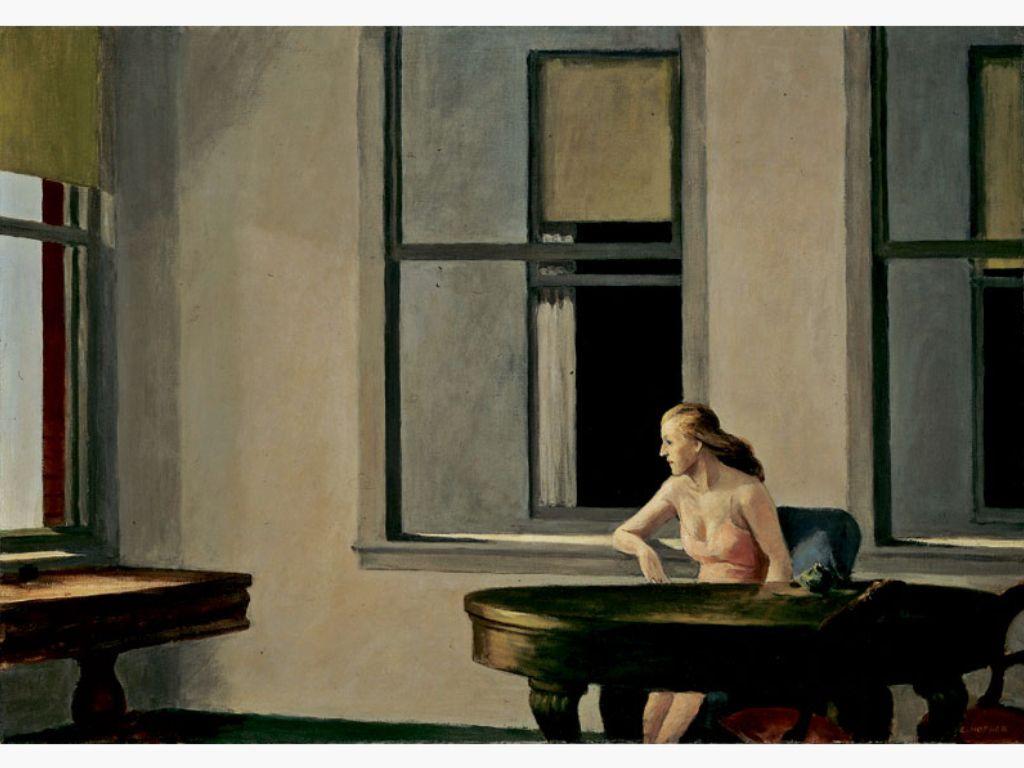 """City Sunlight, 1954 Courtesy Hirshhorn Museum and Sculpture Garden, Smithsonian Institution""  Edward Hopper"