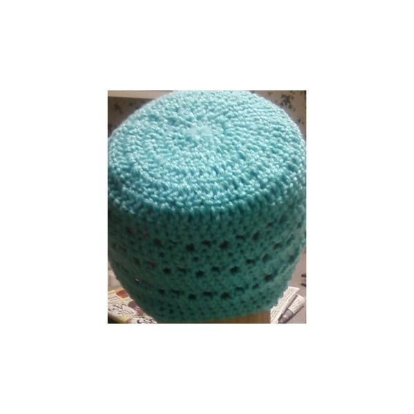 Crochet and donate a cap to a chemo patient