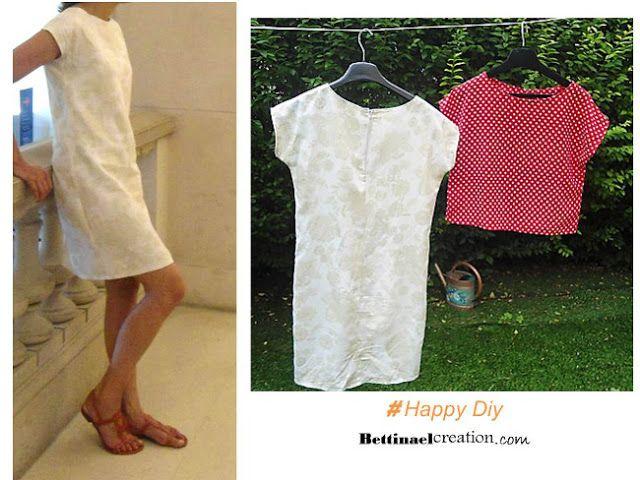 1d6e2d53ede997 PATRON ET TUTO GRATUIT : Couture facile débutant | Couture | Costura ...