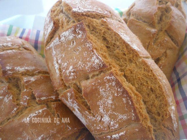 Pan de Centeno (En bolsa de asar)