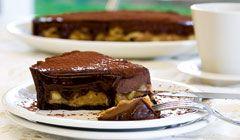 chocolate caramel tart parliaros