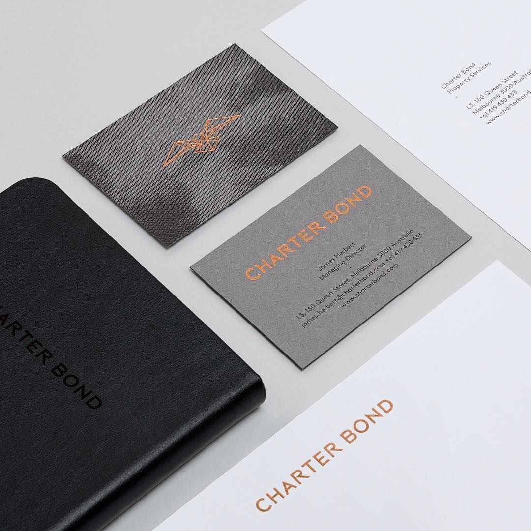 A Brand Identity Created For A Property Consultant Our Solution Uses Bird Iconography To Reference The Company Printing Business Cards Identity Brand Identity