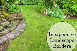 Inexpensive Landscape Borders Landscape Borders, Garden Borders, Garden  Paths, Lawn And Garden,