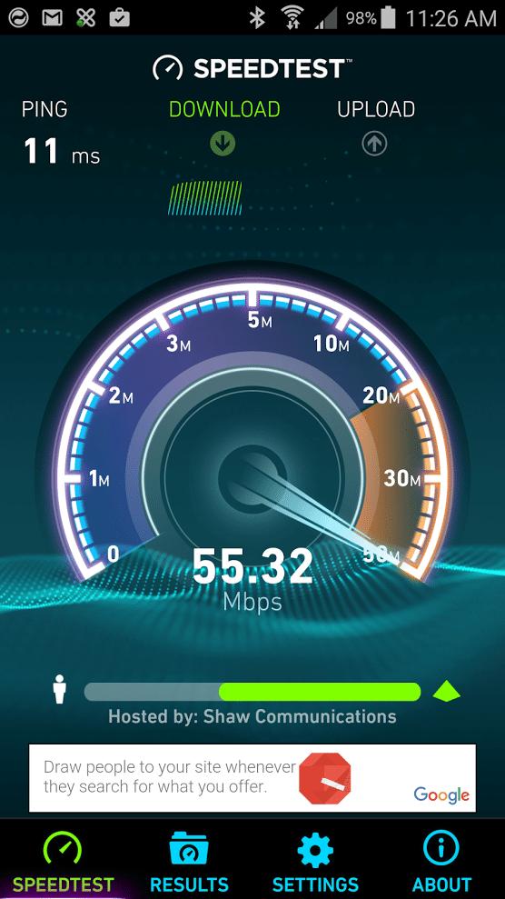 ookla speed test android apk