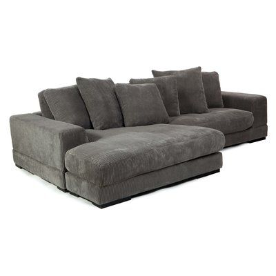 ashley lounge en afw furniture reversible with chaise sofa black
