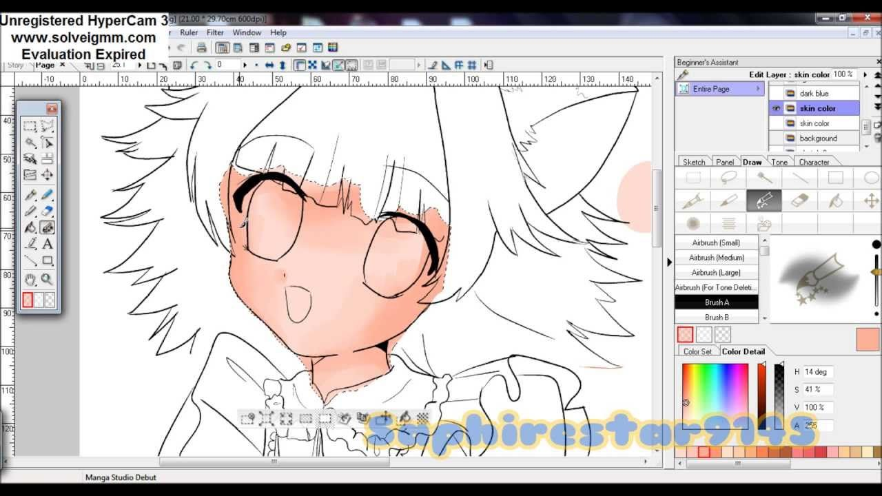 Colored manga websites - Here Is A Digital Tutorial On How To Color Manga Skin Using Manga Studio I Hope This Tutorial Was Helpful For You Guys And Keep In Mind Tha