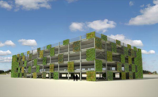 ModuPark+ Parking System, Ballast Nedam (NL) By Architecten, Via Behance