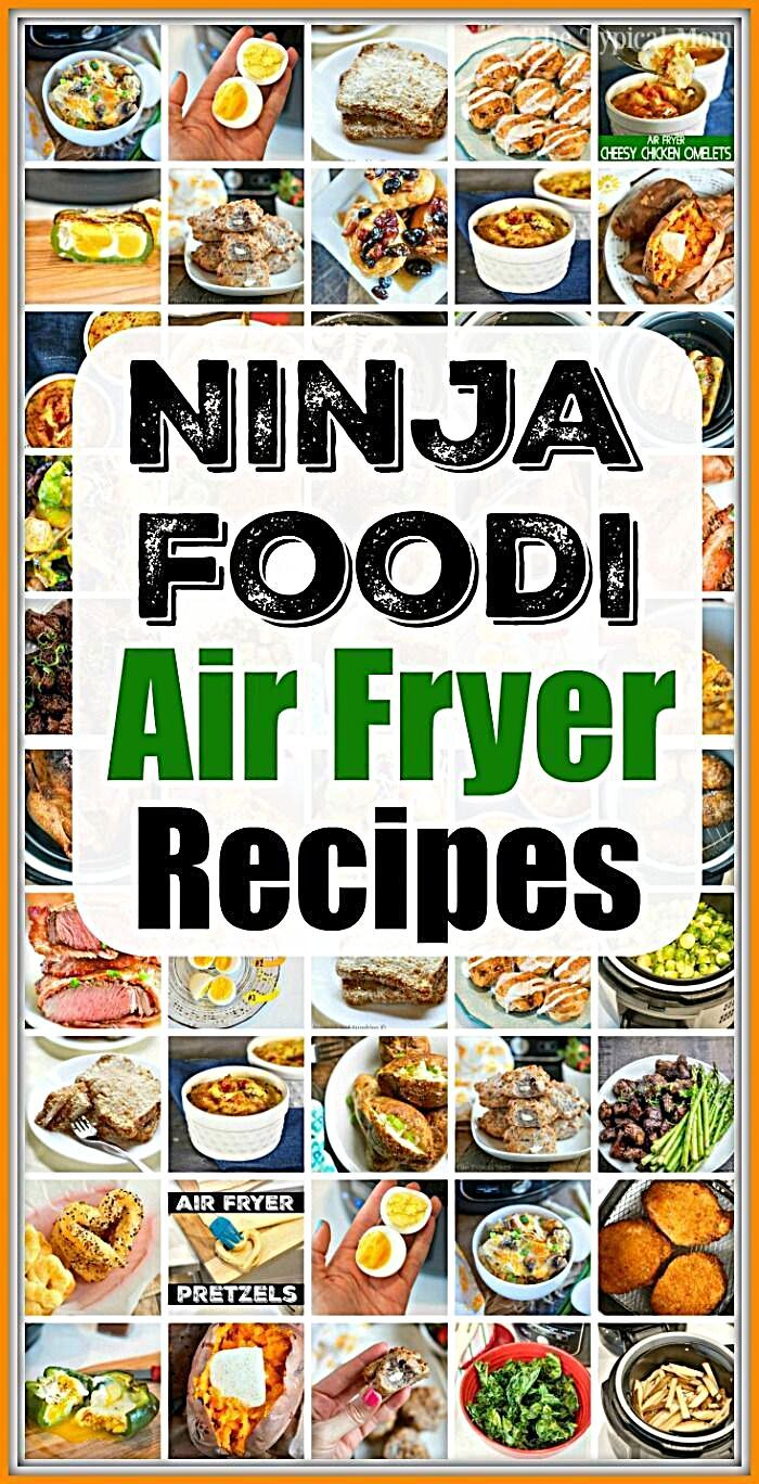 Ninja Air Fryer Recipes Best Ninja air fryer recipes for breakfast lunch dinner and dessert If you have a Ninja Foodi pressure cooker and air fryer we have you covered  B...