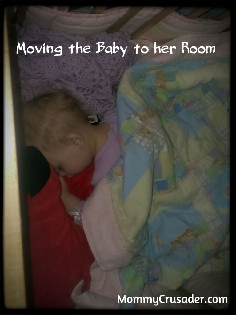 Moving the Baby into her Room | MommyCrusader.com