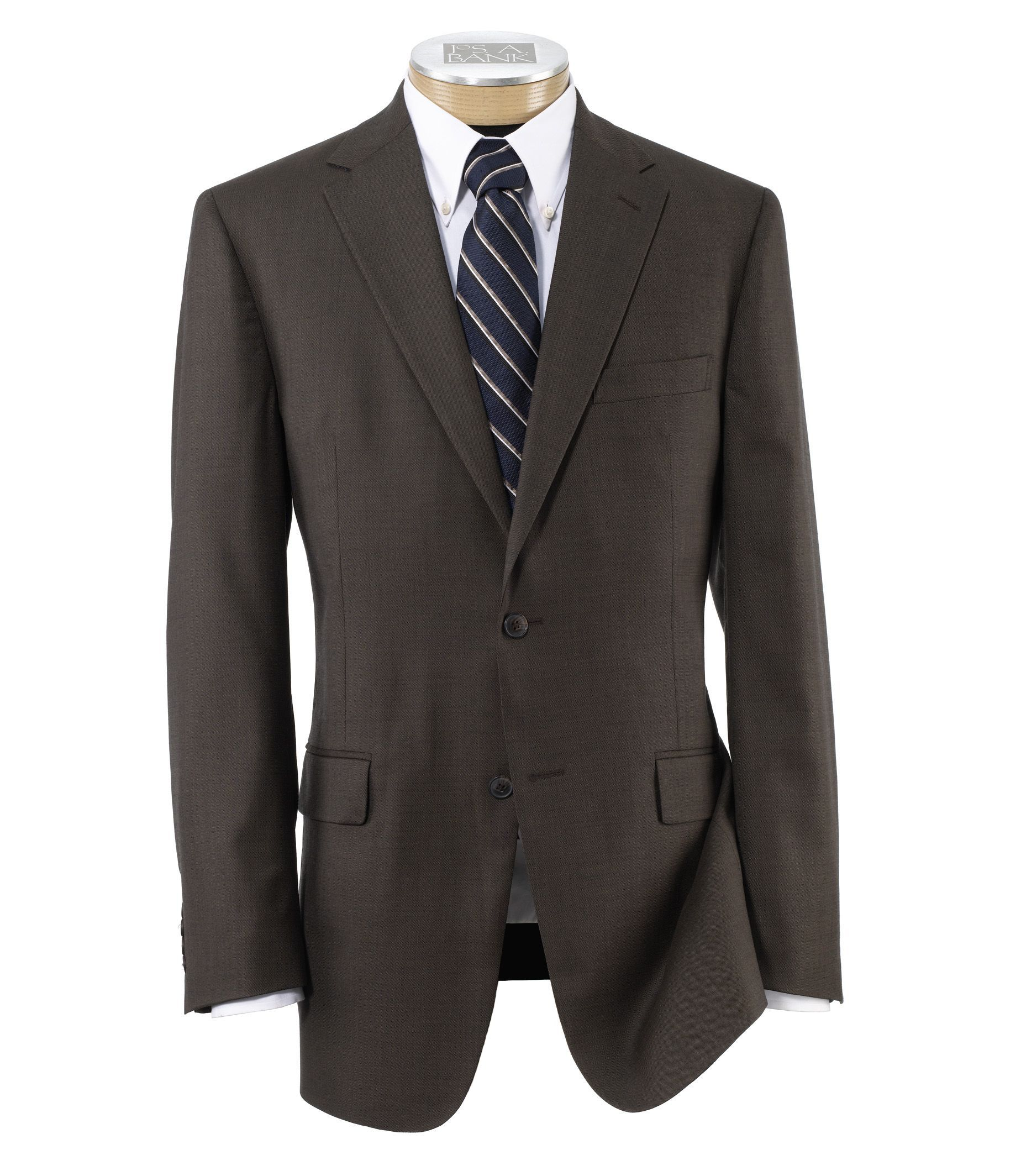 a739bfa9850d Traveler Collection Tailored Fit Sharkskin Suit | Products ...