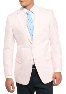 9287dd2565e3 Saddlebred Pink Classic-Fit Pink Seersucker Sport Coat | Products ...