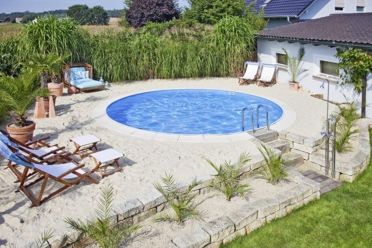 Bin ich am Meer oder im Garten Garten Pinterest Gärten - eine feuerstelle am pool