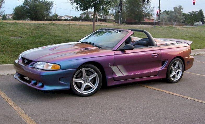 extreme rainbow purple 1997 saleen s281 cobra mustang. Black Bedroom Furniture Sets. Home Design Ideas