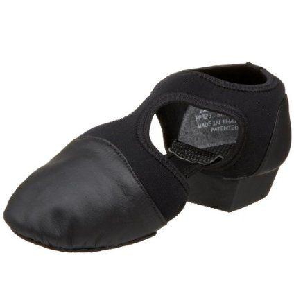 Womens Pedini Femme Jazz/Lyrical Shoe,Black,8 M US Capezio