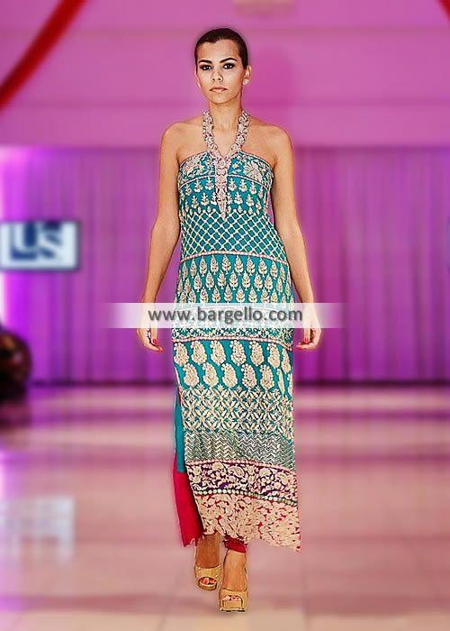 D4701 Beautiful Halter Neck Party Wear Dress - UK USA Canada ...