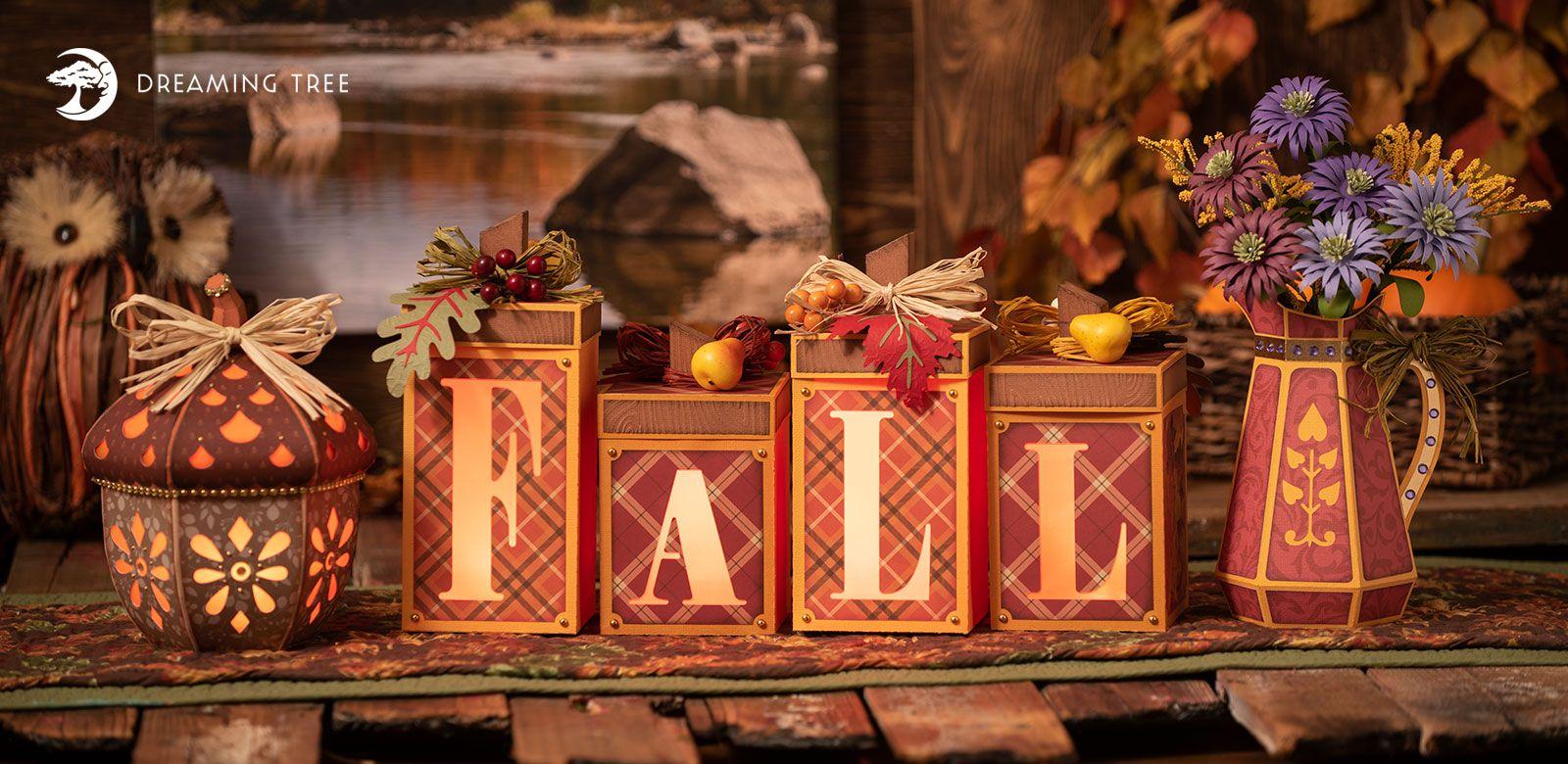 Hello Fall SVG Bundle - Dreaming Tree #hellofall