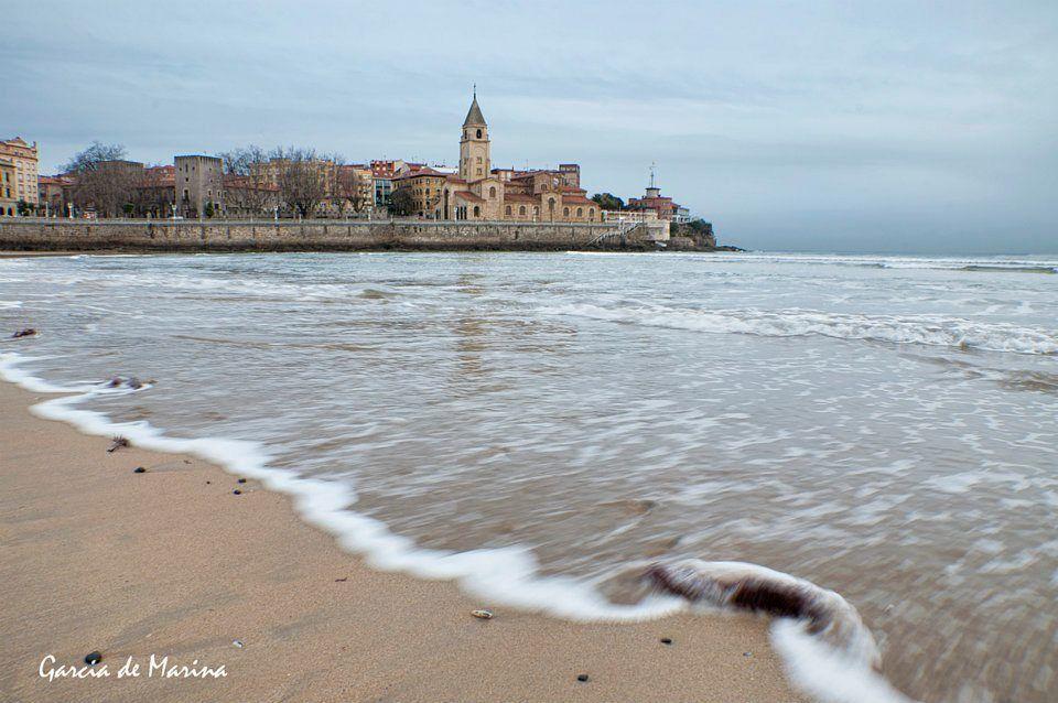 Playa de San Lorenzo-Gijón-Asturias