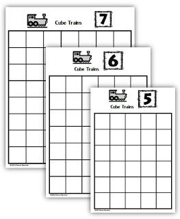 Composing and Decomposing Numbers: Cube Trains | Math Coach's Corner