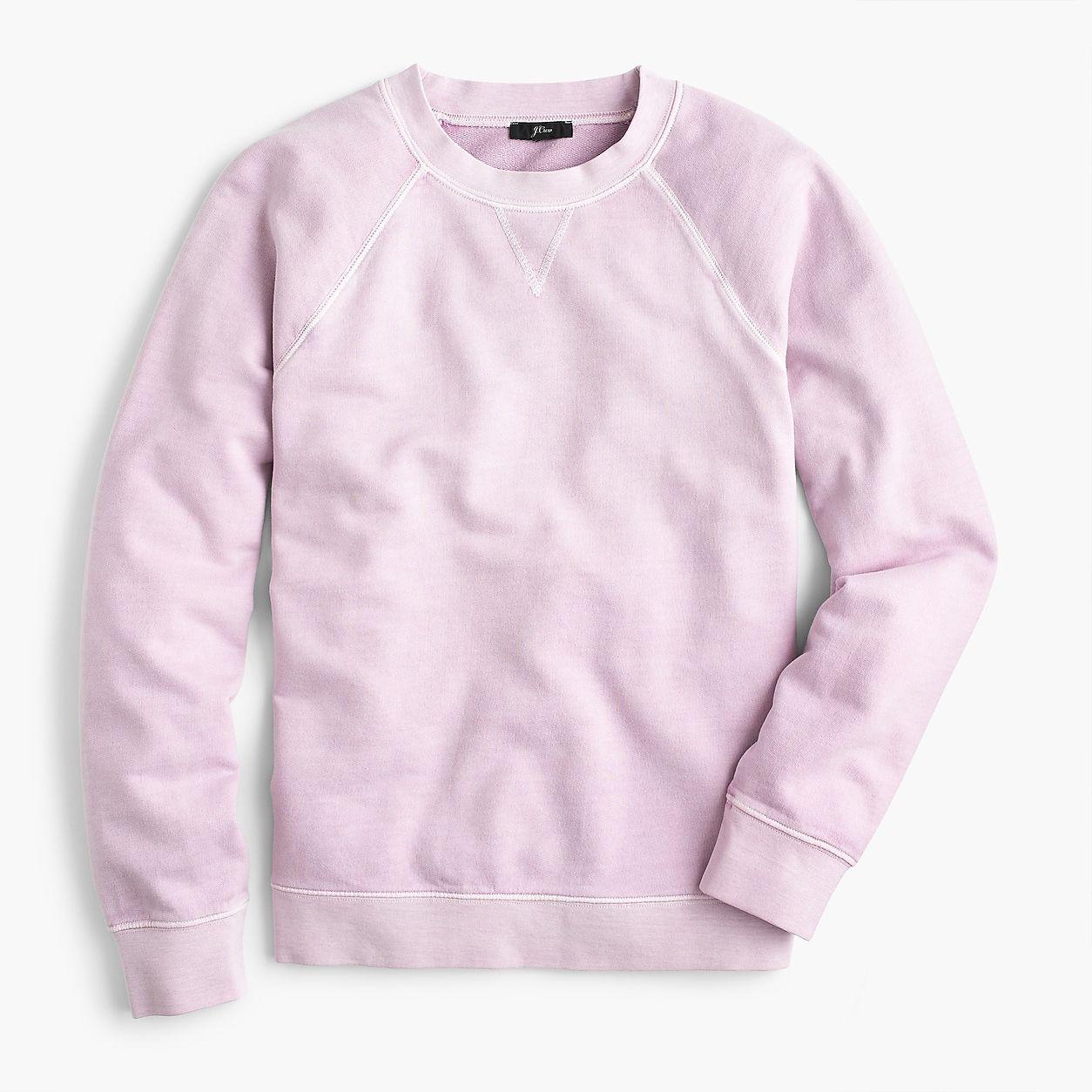 Garment Dyed Crewneck Sweatshirt Sweatshirts Trendy Sweatshirt Sweatshirts Women [ 1254 x 1254 Pixel ]