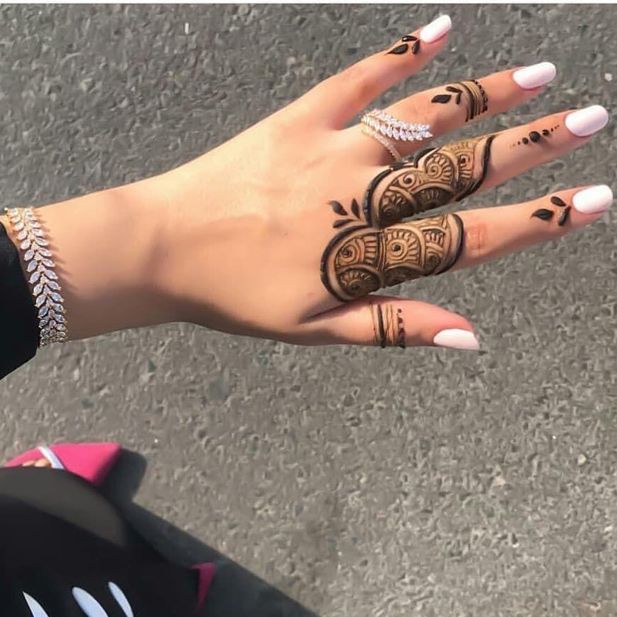 صور نقش الحناء Henna Tattoo Kit Henna Tattoo Designs Simple Henna Tattoo Hand