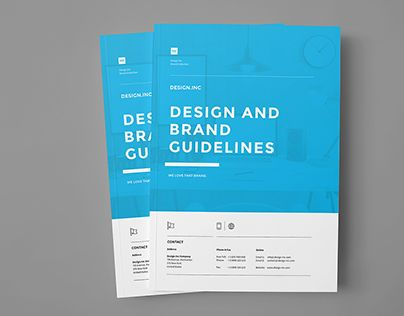 Brand Manual Branding Pinterest Creative, Adobe and Texts - process manual template