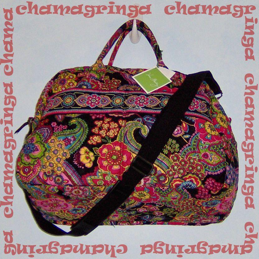 878c8b2794d9 Vera Bradley SYMPHONY IN HUE Weekender bag ⊰♥⊱ Versatile   Roomy ⊰♥⊱ NEW!